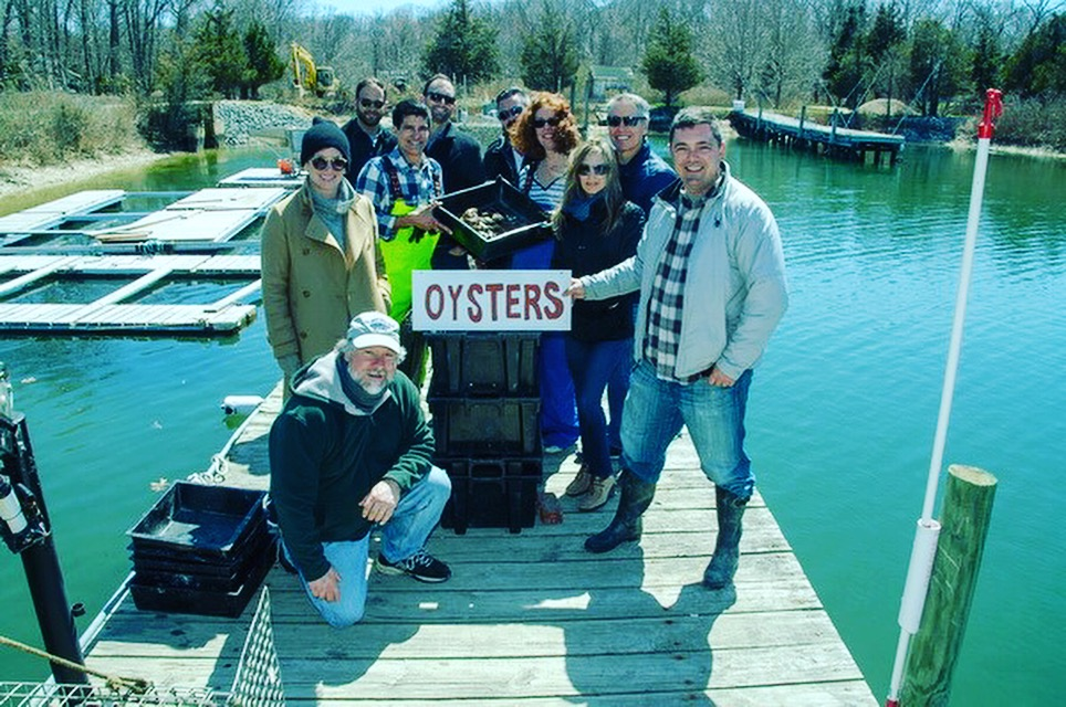 Southold bay oyster tour